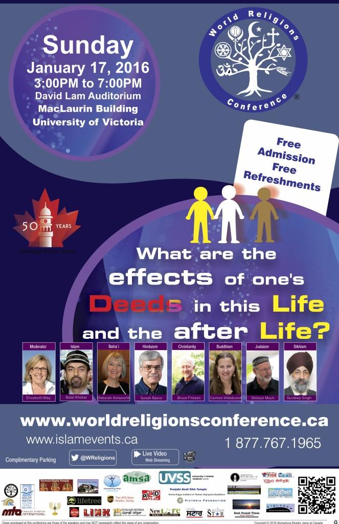 Rabbi Moch at World Religions Conference Victoria 2016